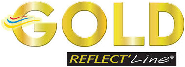 Gold Reflect Line