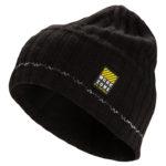 Bonnet tricot noir avec réflecteurs WORKZONE