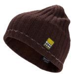 Bonnet tricot brun avec réflecteurs WORKZONE