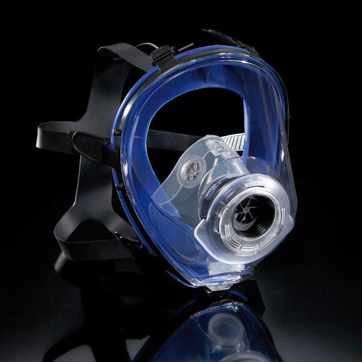 masque facial intégral pour protection respiratoire