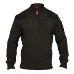 Pull COMBAT col montant FE ENGEL anthracite