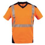 T-shirt haute visibilité BALI manches courtes