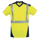 T-shirt haute visibilité manches courtes T2S