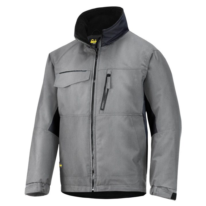 veste d'hiver grise rip stop