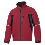 Veste Soft Shell rouge/noir SNICKERS