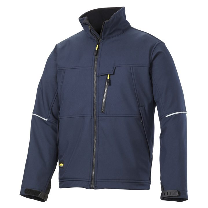veste soft shell marine Snickers workwear