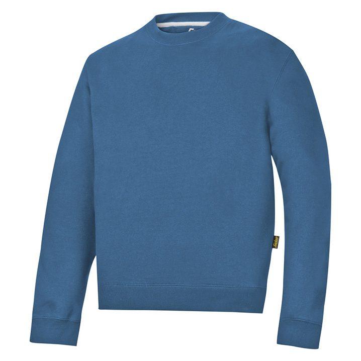 sweat shirt bleu