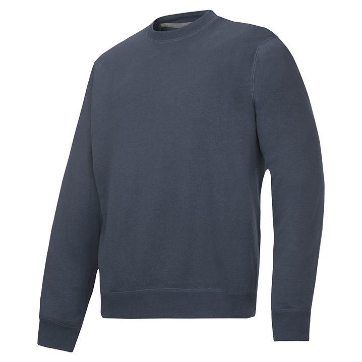 sweat shirt gris acier