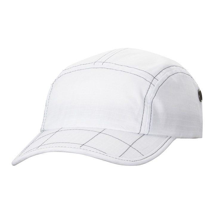 casquette rip stop unie blanc