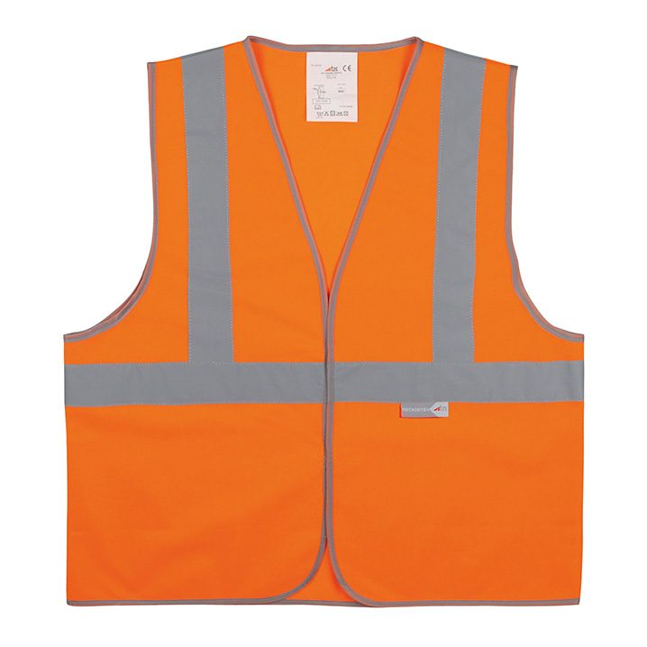 gilet orange haute visibilité