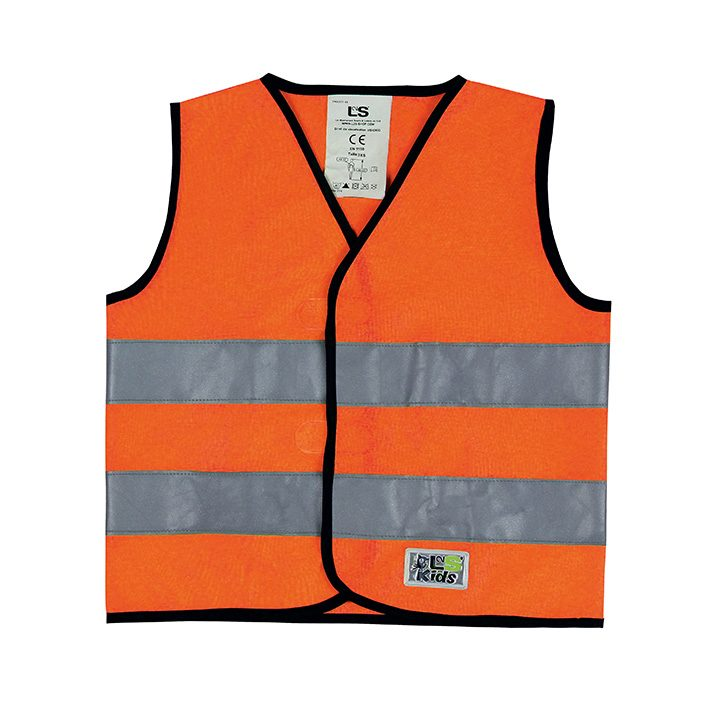 Gilet VISIOKID Orange fluorescent