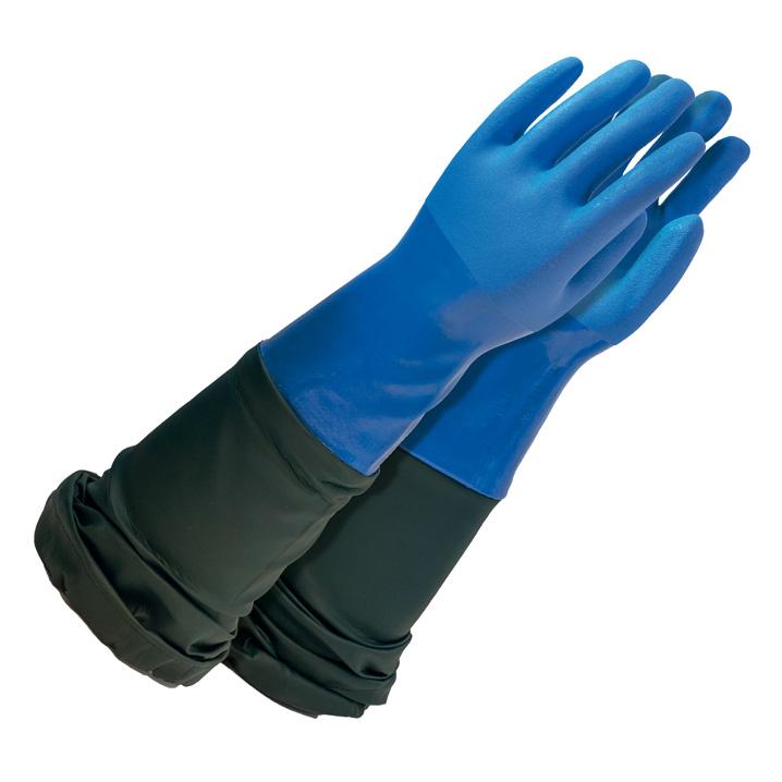 gants de protection grande longueur wetpro vvetech. Black Bedroom Furniture Sets. Home Design Ideas